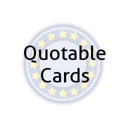 Quotable Cards